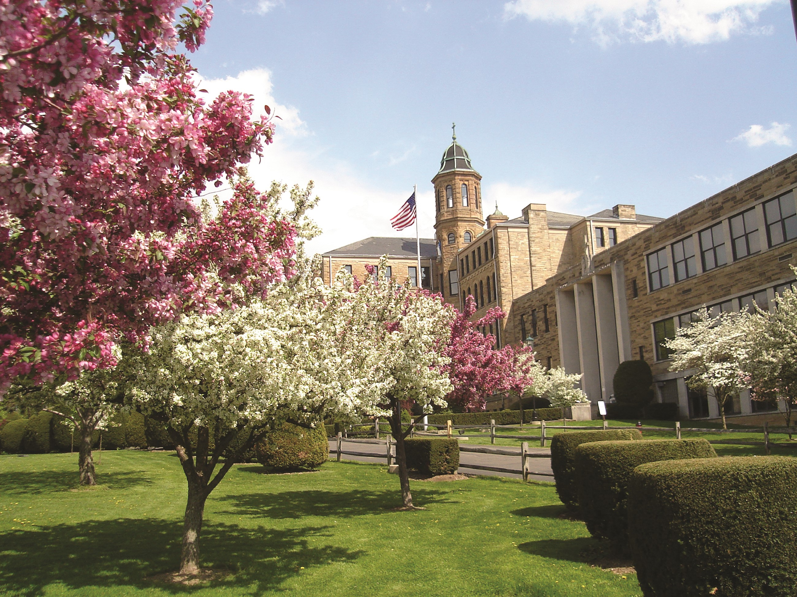 Central Catholic is breath-taking in spring