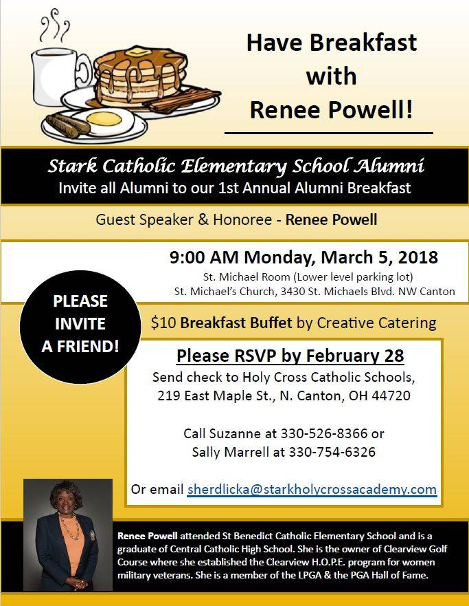 1st Annual Alumni Breakfast