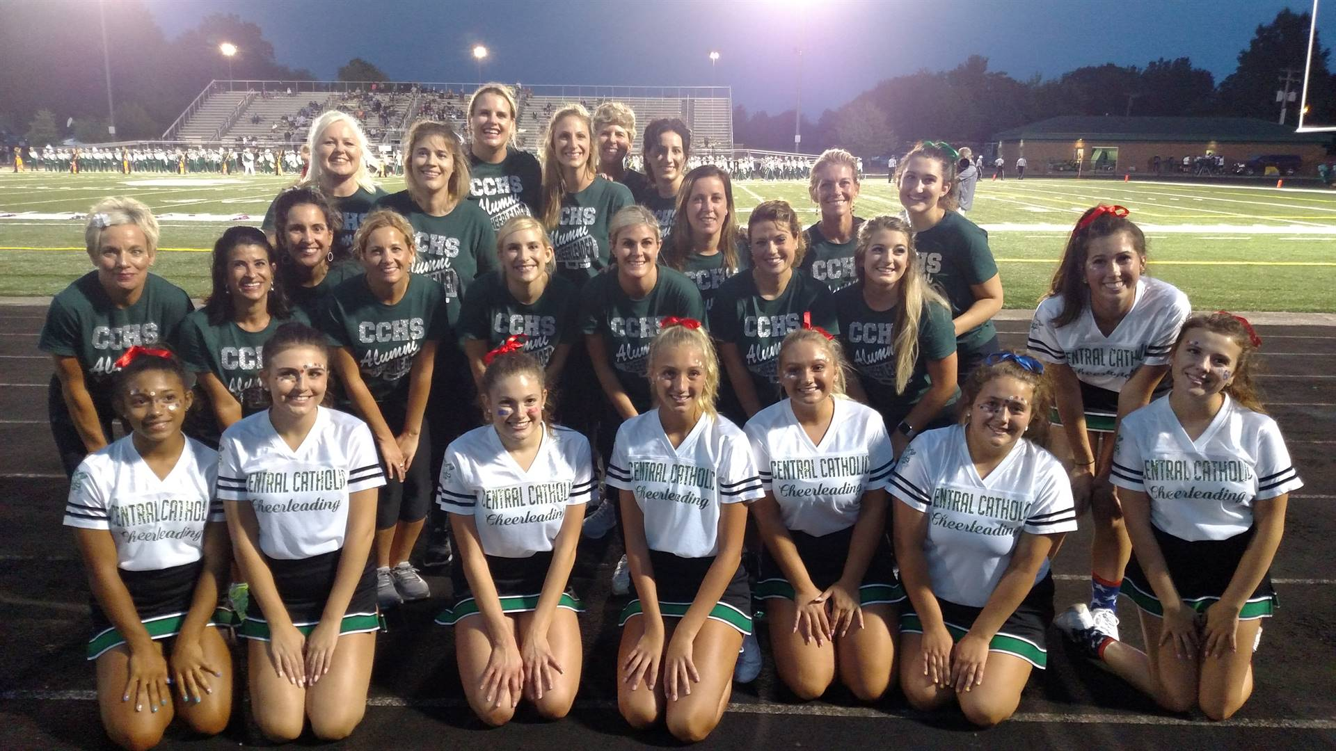 2018 Cheerleader Alumni Football Game!