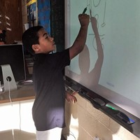 bryce at smart board